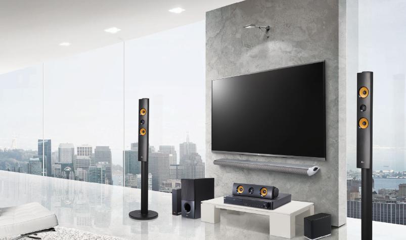 Как настроить и подключить домашний кинотеатр и колонки к телевизору.