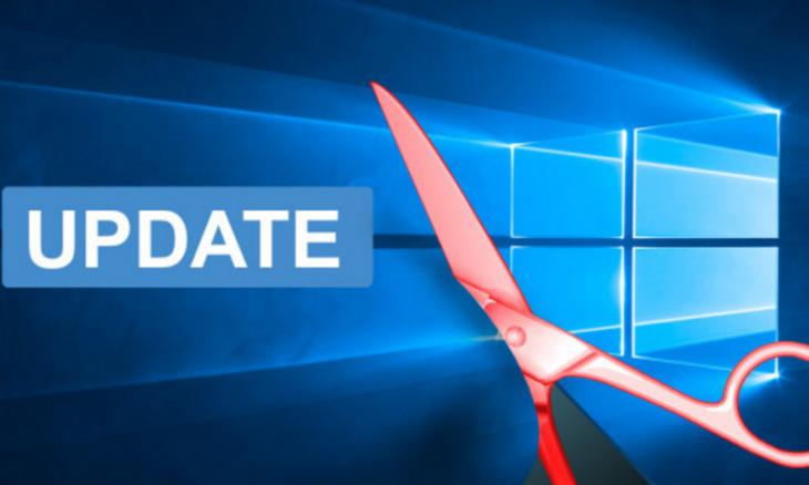 Как отключить автоматическое обновление в Windows 10.